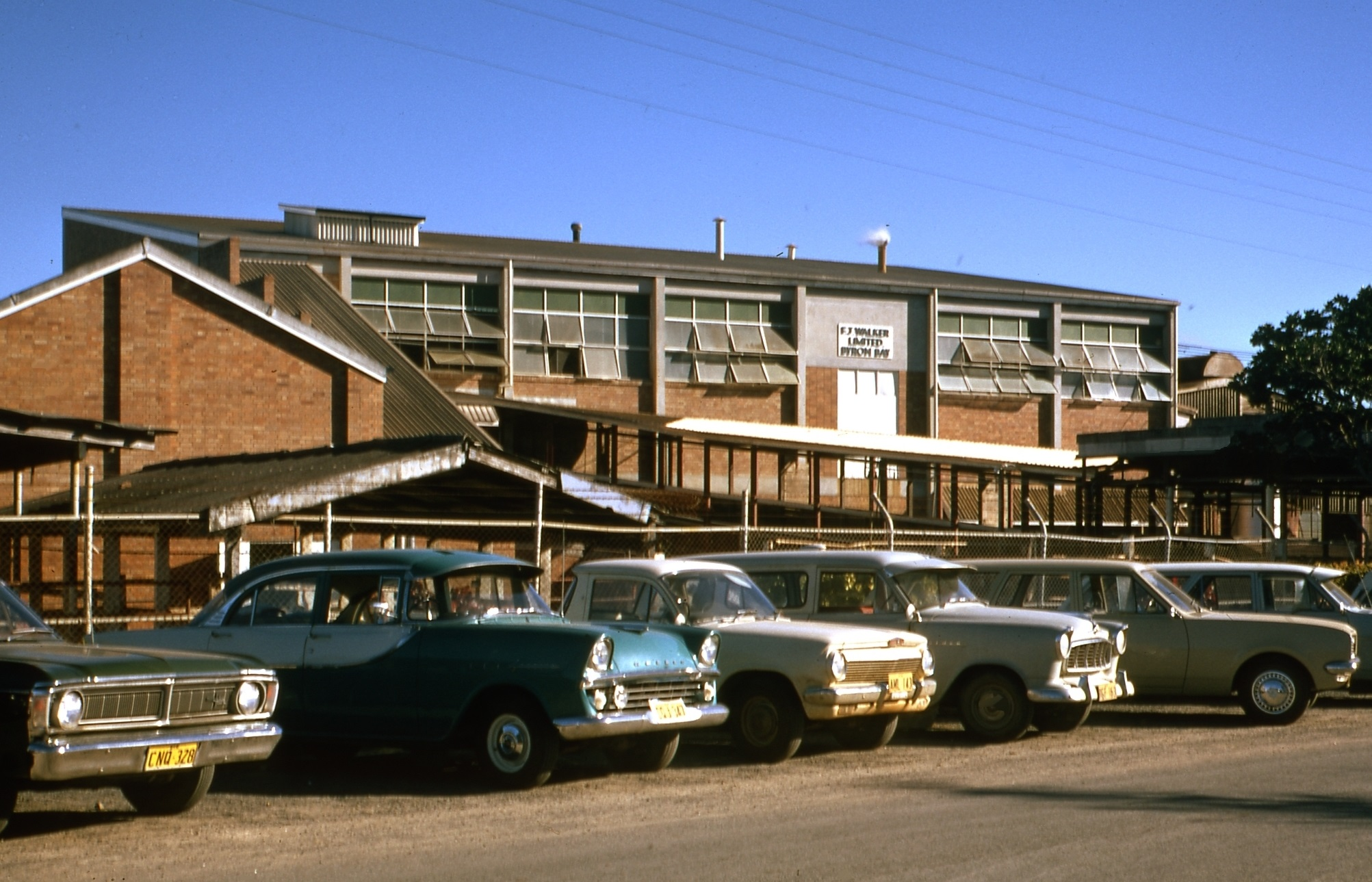 Meatworks in 1972. EJW Photo – RTRL.