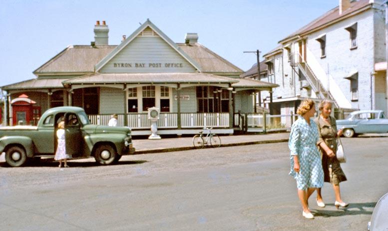 Byron Bay Post Office – 1963 EJW Photo – RTRL.