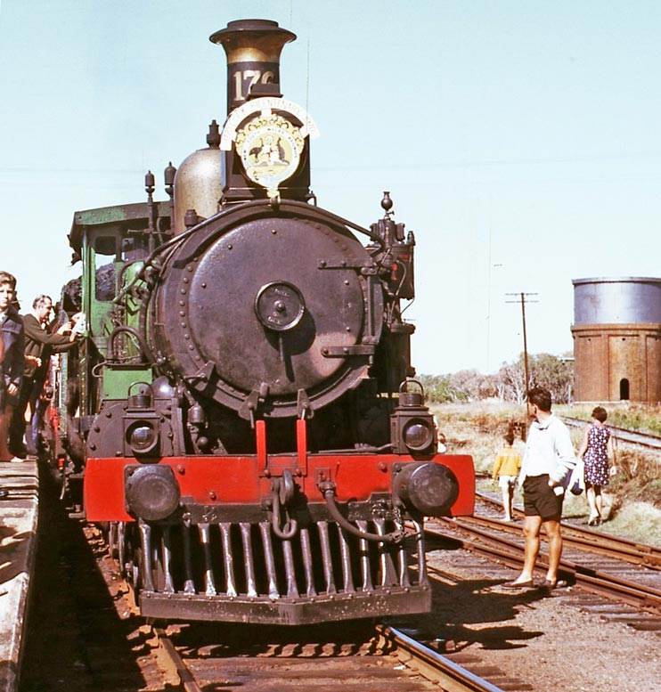 Captain Cook Bicentenary Special Train EJW Photo-RTRL