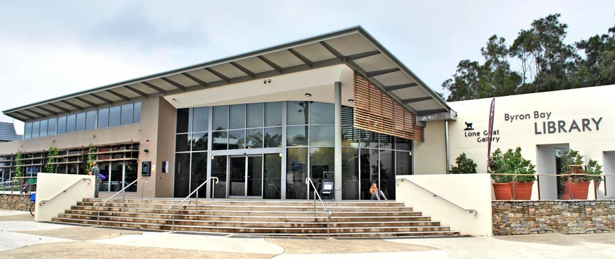 New Byron Bay library opened in 2013. Main - Photo