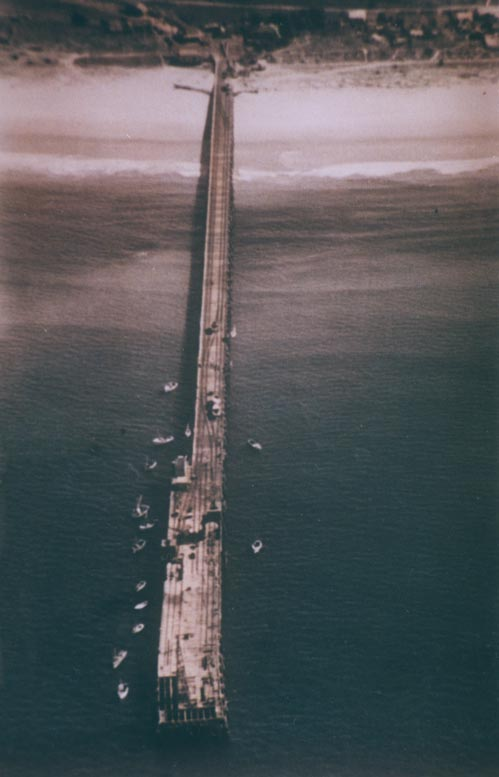 The New Jetty – 1960's. EJW Photo – RTRL