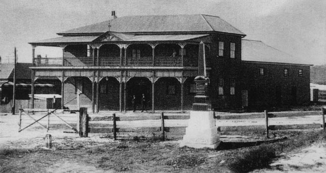 School of Arts Building 1907 shortly after completion. EJW Photo – RTRL.