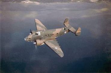Lockheed Hudson Bomber of the type that crashed south of Byron Bay.