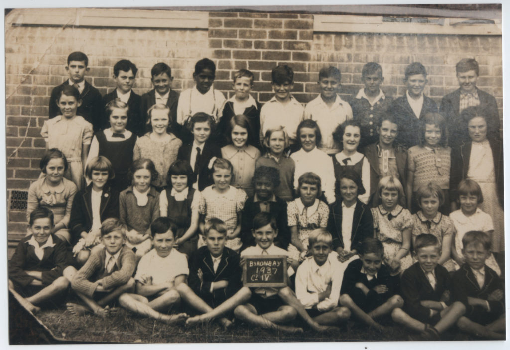 Byron Bay Primary School Class 4 of 1937. EJW Photo – RTR
